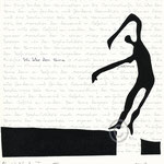 "Druckgrafik aus dem Zyklus ""Ich lobe den Tanz "" - Motiv ca: 18 cm x 18 cm (BxH) - Blatt ca:. 22,5 cm x 29,5 cm (BxH) -ausverkauft -"