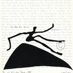 "Druckgrafik aus dem Zyklus ""Ich lobe den Tanz - VIII"" - Motiv ca: 18 cm x 18 cm (BxH) - Blatt ca:. 22,5 cm x 29,5 cm (BxH)"