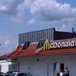Mc Donald's, Engen | Dacheindeckung