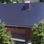 Wohnhaus, VS-Schwenningen | Biberschwanzdoppeldeckung mit Kupferblende