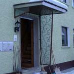Vordach, VS-Schwenningen | Komplettlösung (vorher)