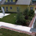 Private Wohnanlage, Aixheim | Tiefgaragenabdichtung mit Begrünung und Nutzbelägen