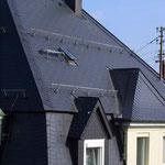 Alte Villa, VS-Schwenningen | Dachsanierung | Doppeldeckung mit Faserzement