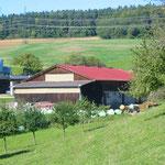 Ökonomiegebäude, Anselfingen | Dachsanierung | Eindeckung & Stahltrapezblech