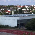 Sporthalle Deutenberg, VS-Schwenningen | Dachsanierung mit Lichtbändern & Abdichtung mit Polymer-Schweißbahn
