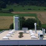 Fabrikneubau, Spaichingen | Abdichtung mit hochpolymerer Dachbahn