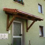 Vordach, VS-Schwenningen | Komplettlösung (nachher)