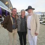 Karl Meerkatz, Franz und ich im GHPC Villach 5/2012