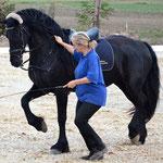Princess im spanischen Trab - ihre Lieblingslektion
