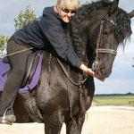 Training für das Pferdefest in Mallon