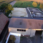 Luftbildaufnahme unseres Reitplatzes