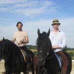Alexander Wüst und Thomas Morris bei uns zu Besuch