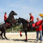 Vorbereitungen für die Apropos Pferd 2012