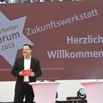 Moderation Mitarbeiter Forum Sparkasse Rhein-Nahe 2019