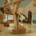 Intérieur de la Maquette vue de l'entrée - Champrepus