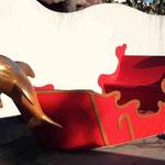 La Barque du Père Noël pour le Spectacle des Dauphins - Marineland