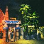 """""""Le Trésor du Pharaon"""" - La porte d'Horus finie"""