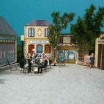 Festyland - Maquette de la Place 1930