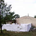 Construction d'une extension de villa en Siporex Béton cellulaire Xella