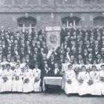 Fahnenweihe 1909