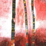 Zauberbäume rot