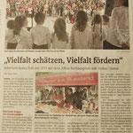 Vielfalt schätzen, Vielfalt fördern IKZ vom 12.05.2015