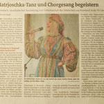 Matrjoschka-Tanz und Chorgesang begeistern