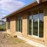 Die Fenster sind eingebaut - 18.10.2005