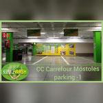 Service wash Carrefour Móstoles