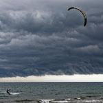 2016: Kite-Surver in Spanien