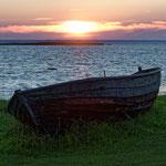 2017: Sonnenuntergang in Estland