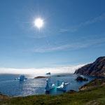 2018, August: Südost-Grönland. Die größte Insel der Welt.