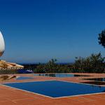 2010: Das Dach von Dali's Haus in Cadaques (Spanien)