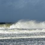 2013: Holland, Sturm an der Nordsee