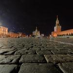 2017: Der Rote Platz in Moskau, rechts der Kreml, links das Kaufhaus GUM