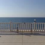 2013: Halbinsel Krim, Blick auf das Schwarze Meer