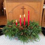 アドベント第三主日礼拝(12月14日)で三本ともしました。