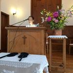 礼拝の始まり