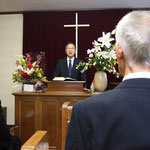 就任式の式辞 「愛の内に建てられる教会」 蛭川明男牧師(洋光台教会)