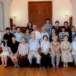 原田牧師就任以来初めてのことです。
