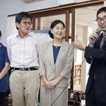 富士吉田教会 宮西牧師と教会員
