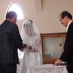 結婚式② 指輪の交換