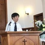 説教 石渡修司先生(清水栄光教会牧師)