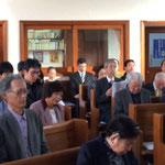 新年連合礼拝来会者②
