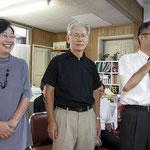浜松教会 伊藤牧師と教会員①