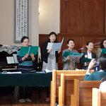 特別賛美 教会聖歌隊賛美 「小さなかごに」「御前につどい」