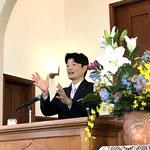 講師 鈴木直哉牧師 説教「みずみずしい生き方の約束~イエス様につながって生きる~」