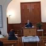 説教 「献げる自由」 原田牧師