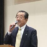 挨拶:市民連合しずおか事務局長・小長谷保さん