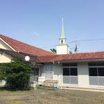 教会南西角(裏側)